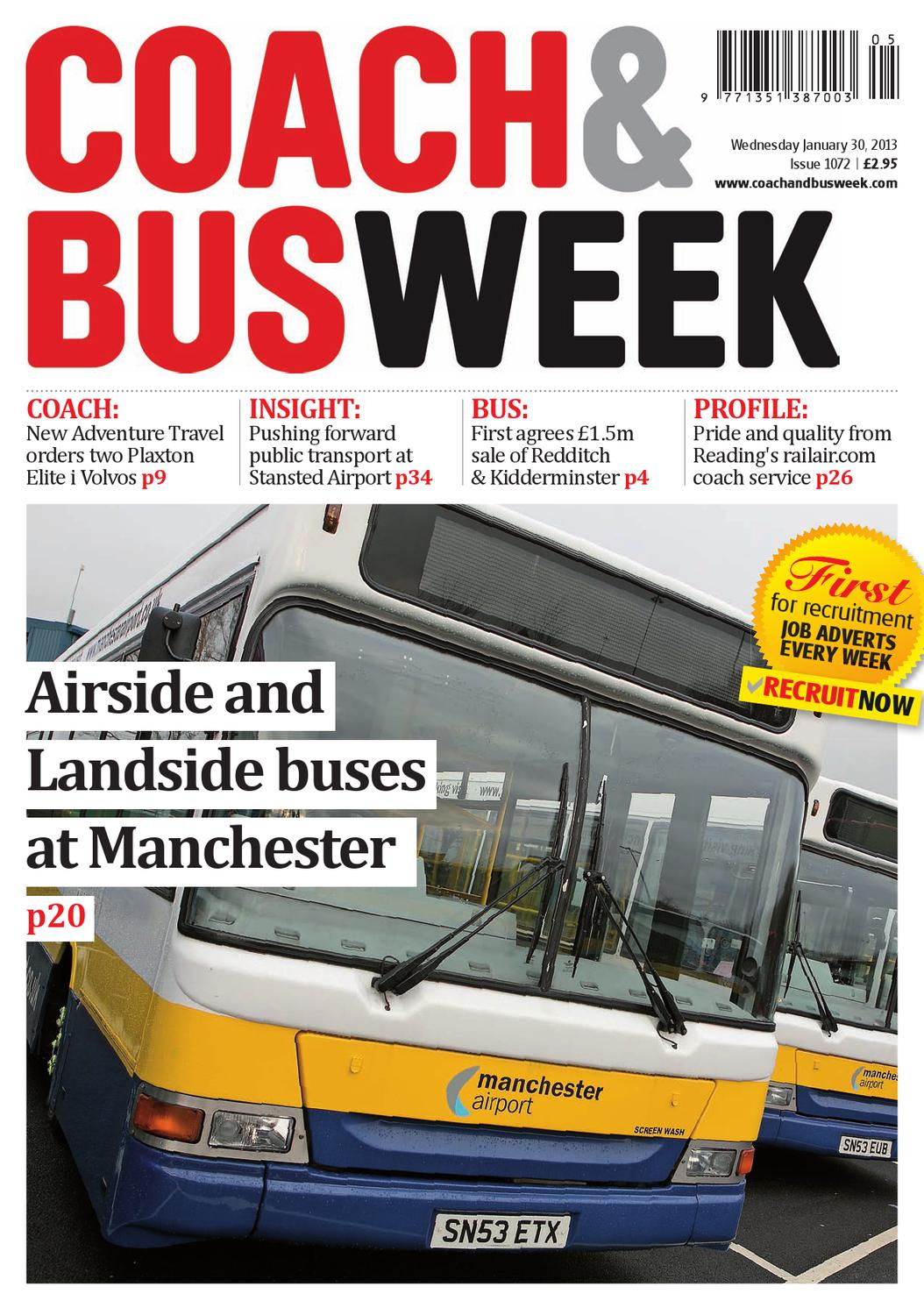 Stansted Car Village Shuttle Coach Bus Week Issue 1072 By Coach And Bus Week Group
