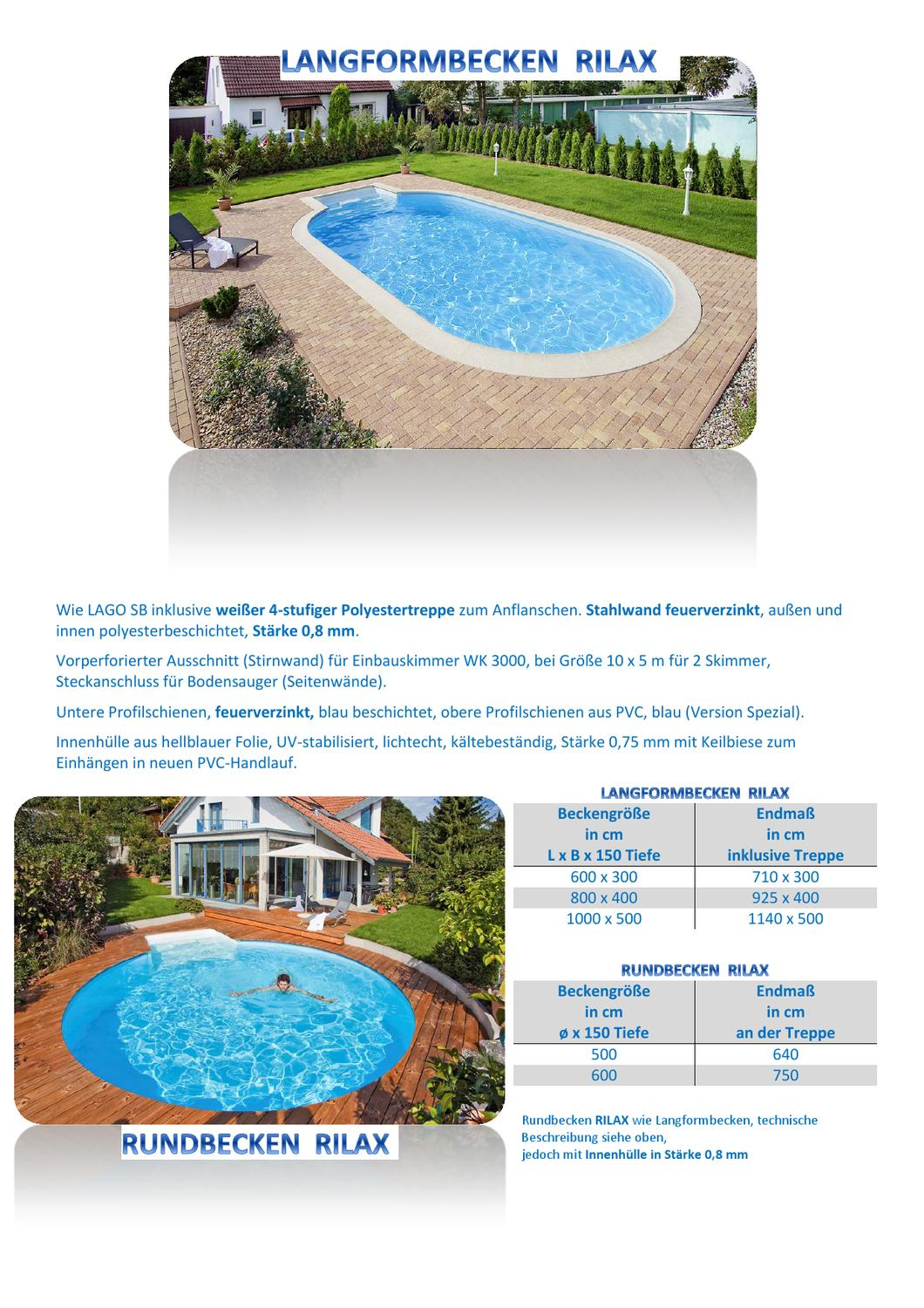 Bodensauger Für Quick Up Pool 13 Rilax By Lilly Schwarzinger Issuu