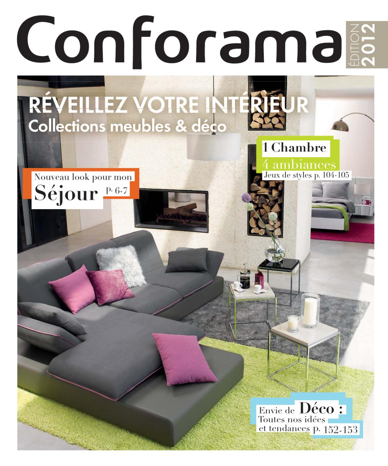 Conforama La Rochelle Conforama Fr Meubles Déco2012 By Proomo France Issuu