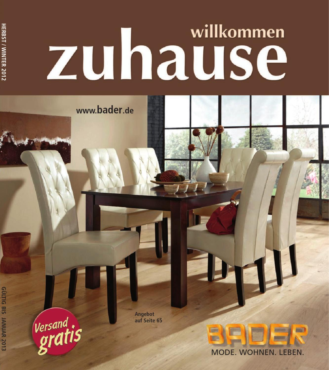 Sessel Bader Bader Zuhause By 1001katalog Issuu