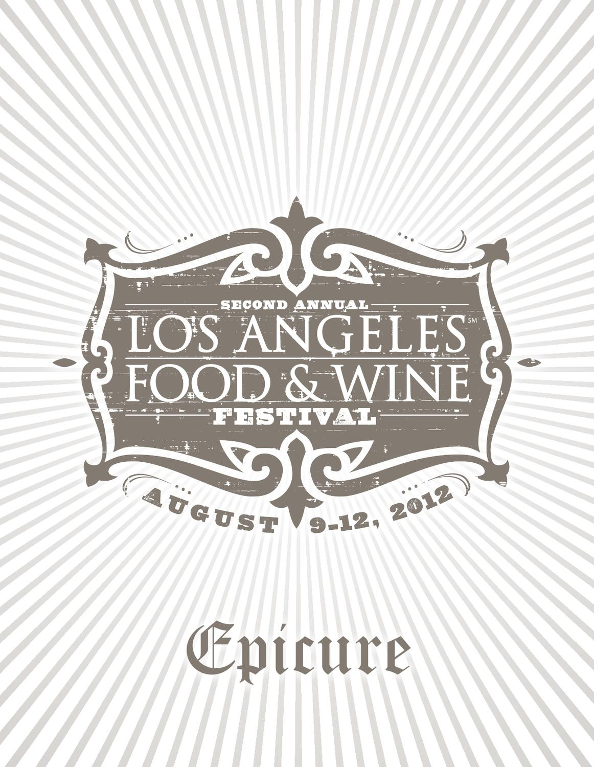 Aida Vino E Cucina Ek?i Los Angeles Food Wine 2012 Epicure