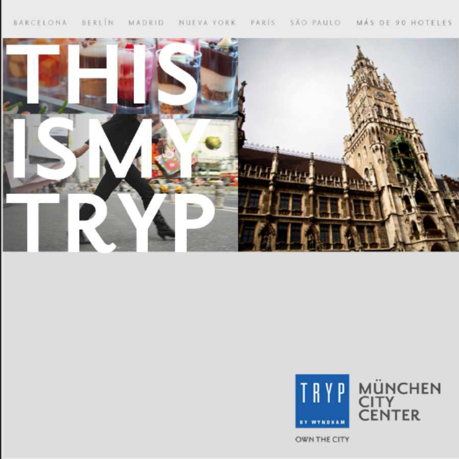 Cash Pool Odeonsplatz Welcome To Munich This Is Your Tryp By Melia Hotels