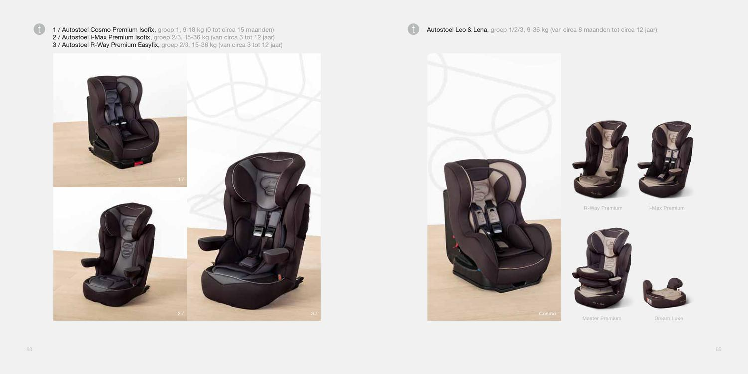 Autostoel 9 Tot 18 Kg Quax Catalogus 2013 By Baby De Luxe Hasselt Issuu