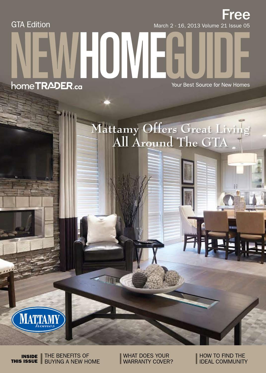 Gta New Home Guide March 2 2013 By Nexthome Issuu