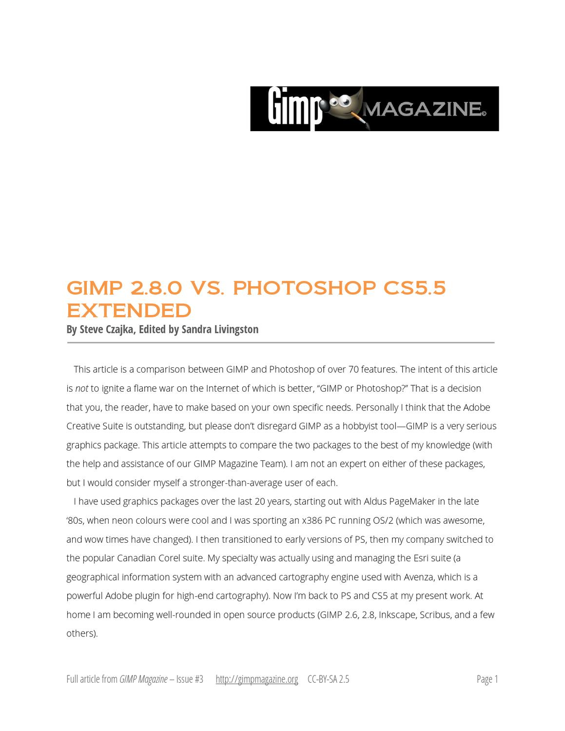 Fullsize Of Photoshop Vs Gimp