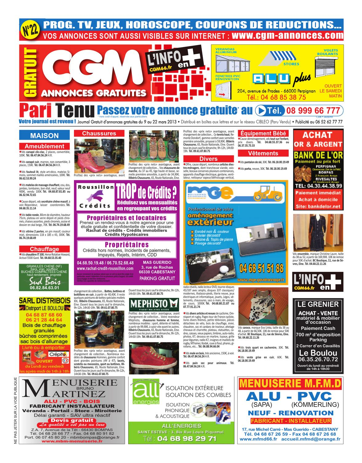 Fenetre Pvc Julien Courbet Cgm 22 Journal Gratuit Perpignan By Le Journal Catalan Issuu