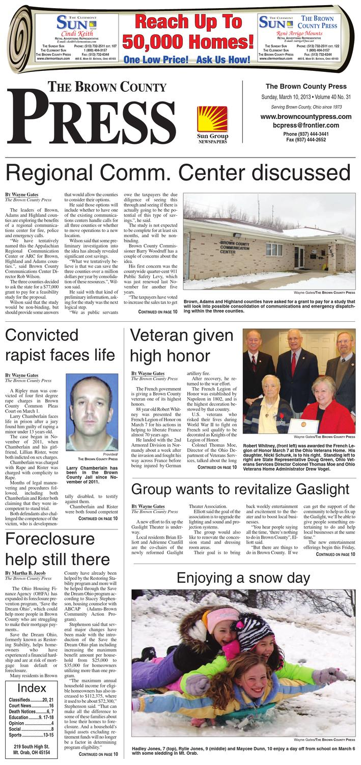 The brown county press march 10 2013 by clermont sun publishing company issuu