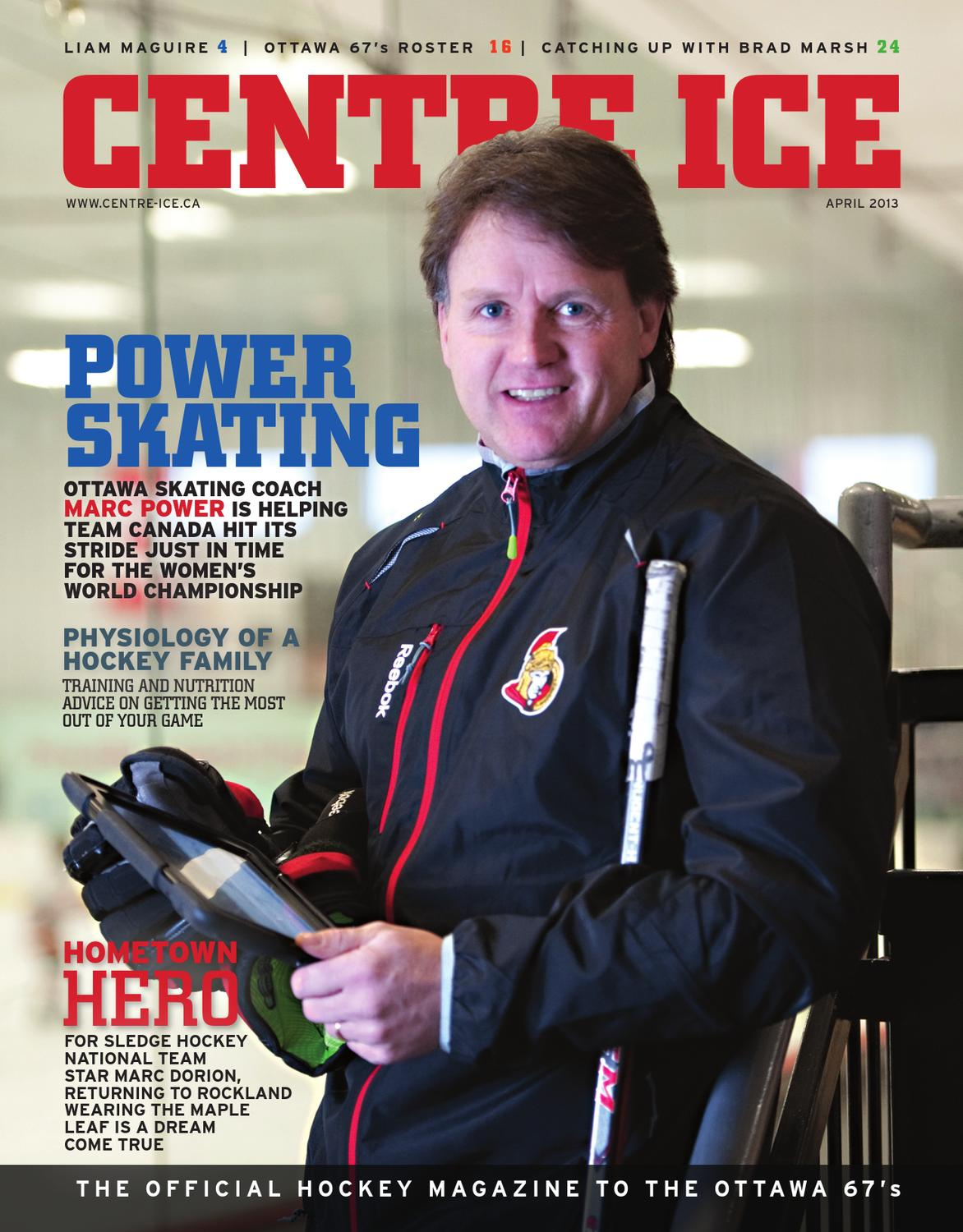Marc Duchesne Hockey Centre Ice By Great River Media Inc Issuu