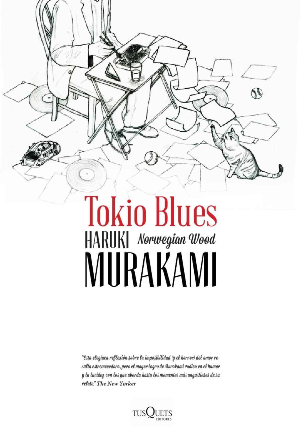 Libro Tokio Haruki Murakami Tokio Blues By Lemonet Issuu
