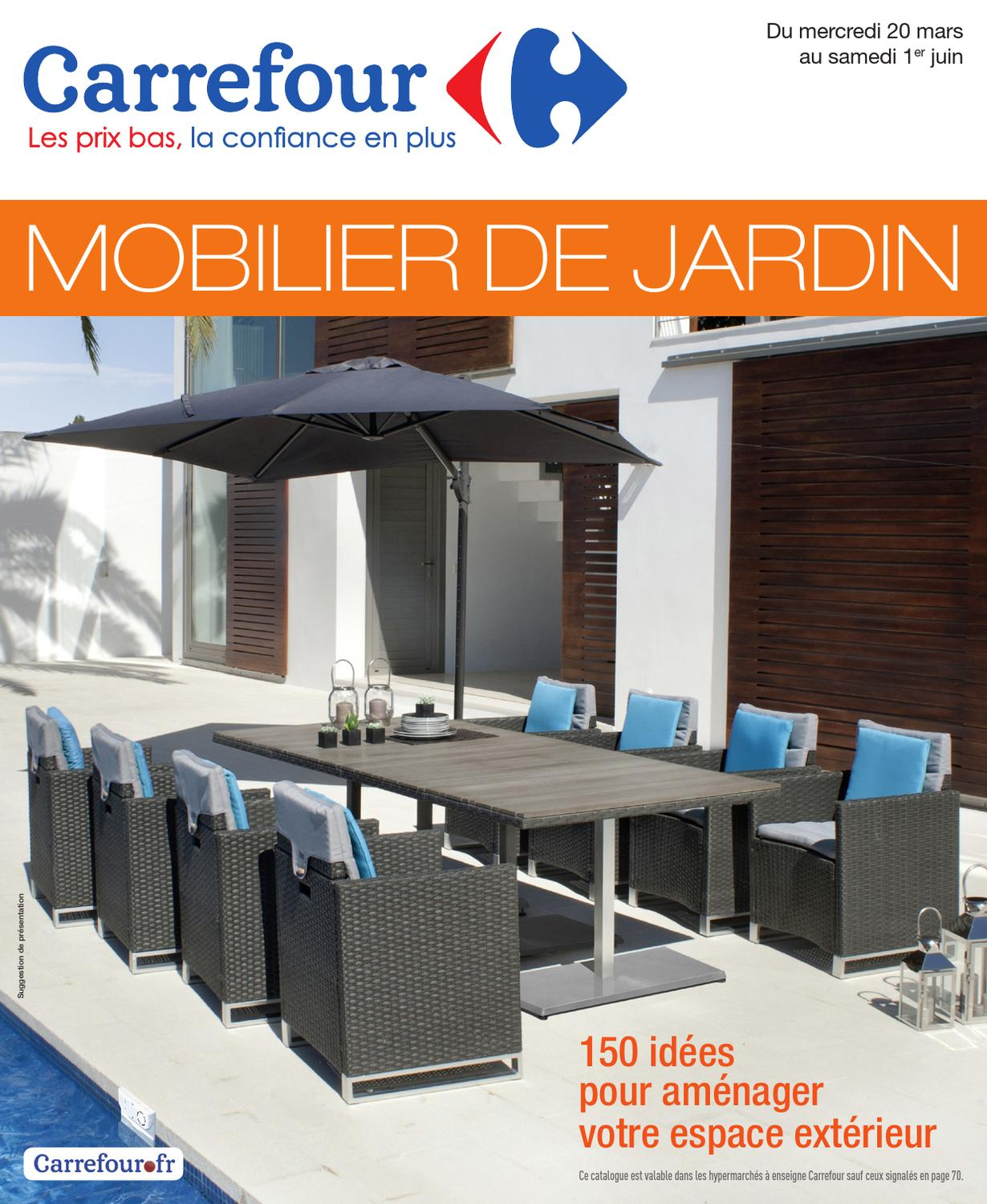 Housse De Protection Salon De Jardin Carrefour Carrefour 20 3 1 6 2013