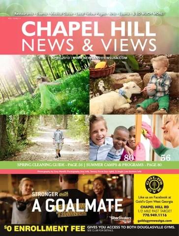 Chapel Hill News  Views - April 2013 by Lindsey Robbins - issuu