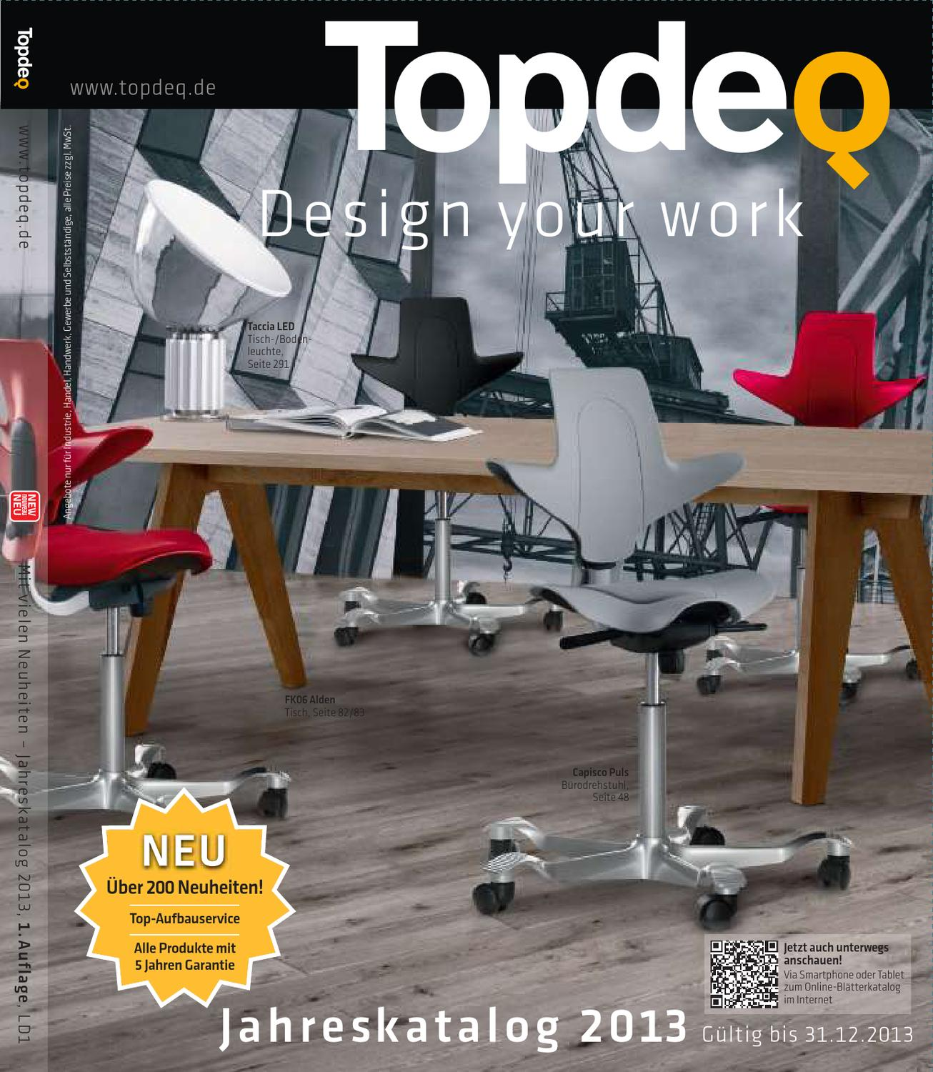 Topdeq Designmöbel Katalog 2013 By Topdeq Design Your Work Issuu