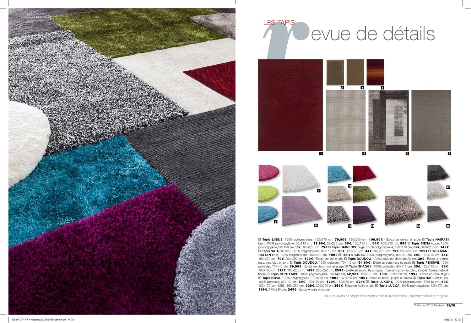 Heytens Tapis Collection Heytens 2013 France By Mehdi Tekaya Issuu