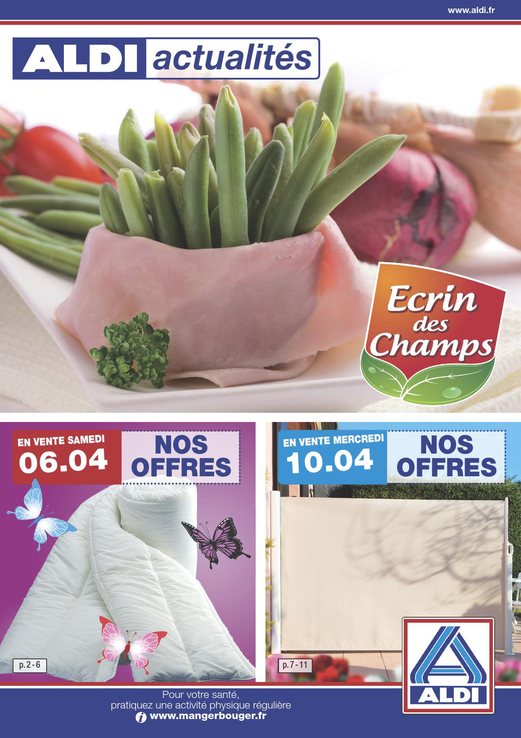 Aldi Catalogue 6 10 Avril 2013 By Promocatalogues Com Issuu