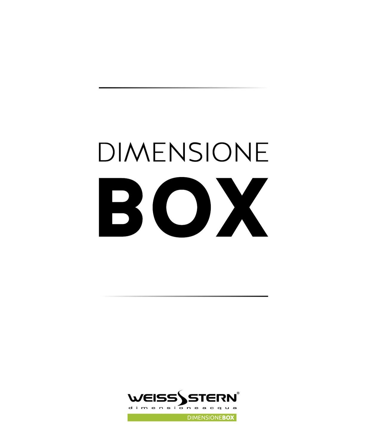 Box Doccia Weiss Stern Catalogo Weiss Stern Dimensione Box 2013 By Luca Busetto Issuu