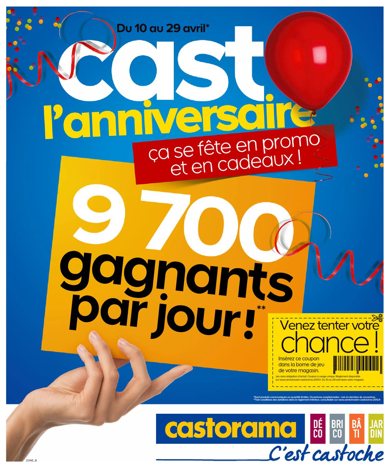 Casto Toulon Castorama Catalogue 10 29 Avril 2013