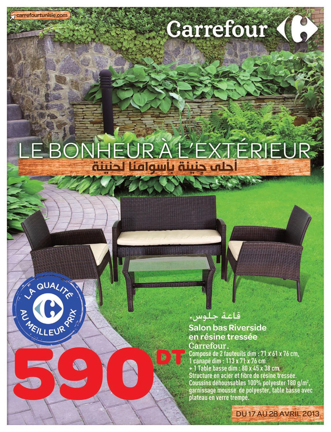 Catalogue Carrefour Salon De Jardin Top Catalogue Carrefour Le Bonheur Luextrieur By Carrefour