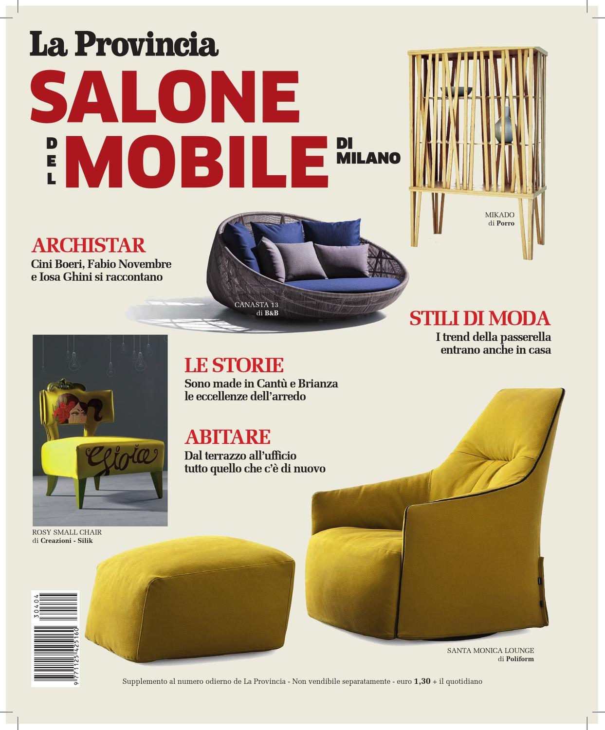 Molteni Divani Arosio Special Issue On Salone Del Mobile Di Milano