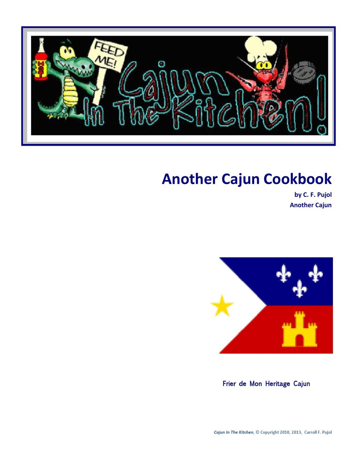 Cajun In The Kitchen By Carroll Pujol Issuu