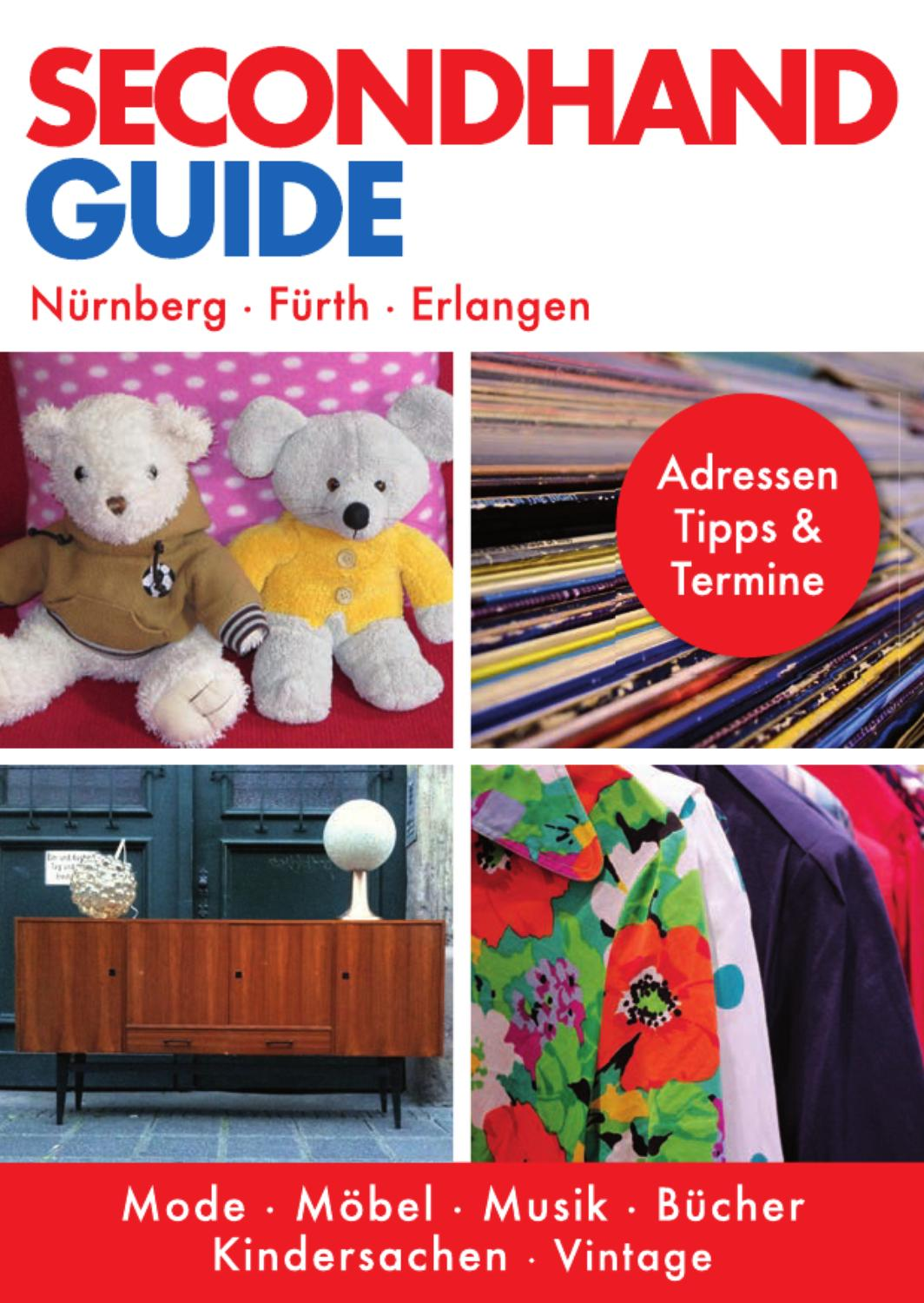 Vintage Möbel Erlangen Secondhand Guide By Irina Gossmann Issuu