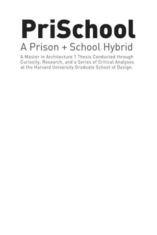 The 21st Century Prison by housingdotcom - issuu