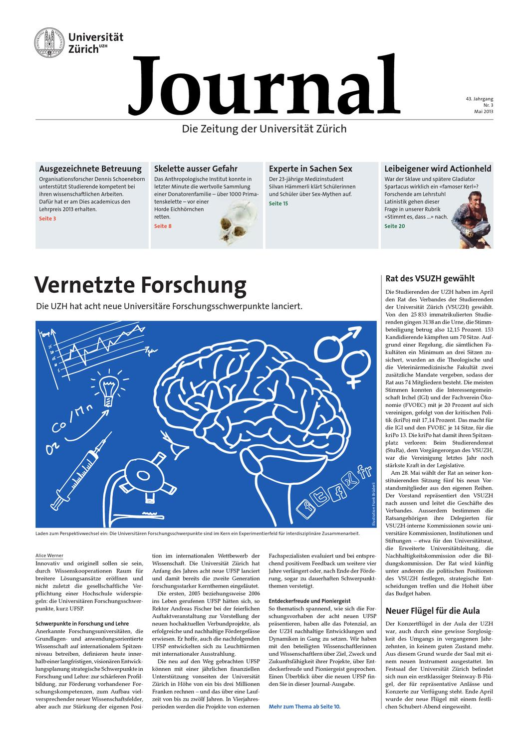 Uzh Journal 3 13 By University Of Zurich Issuu