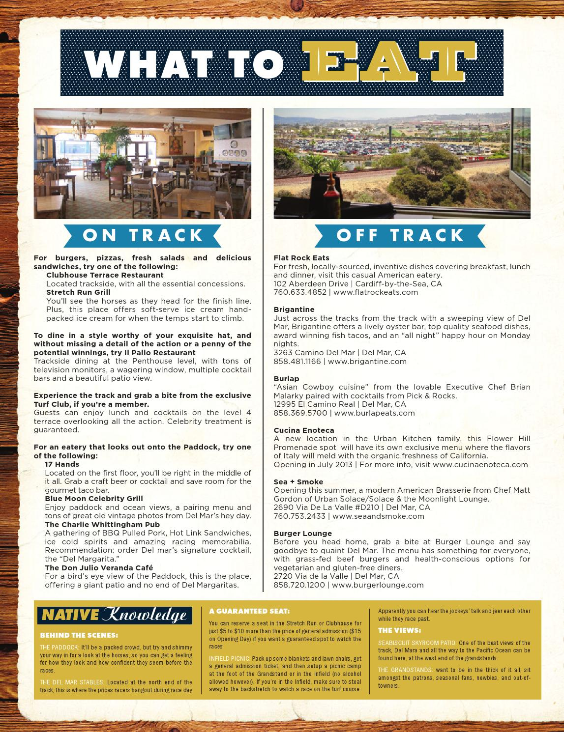 Locale S Guide To Del Mar Thoroughbred Club By Locale Magazine Issuu