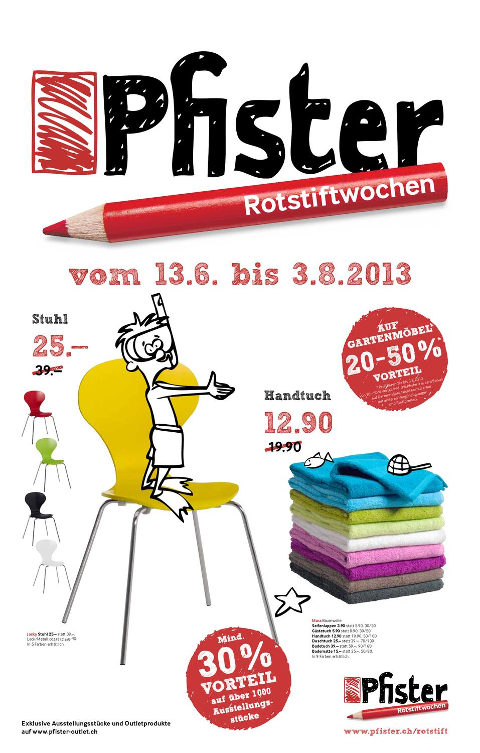 Outdoor Teppich Pfister Pfister Rotstift By Factum Ag Issuu