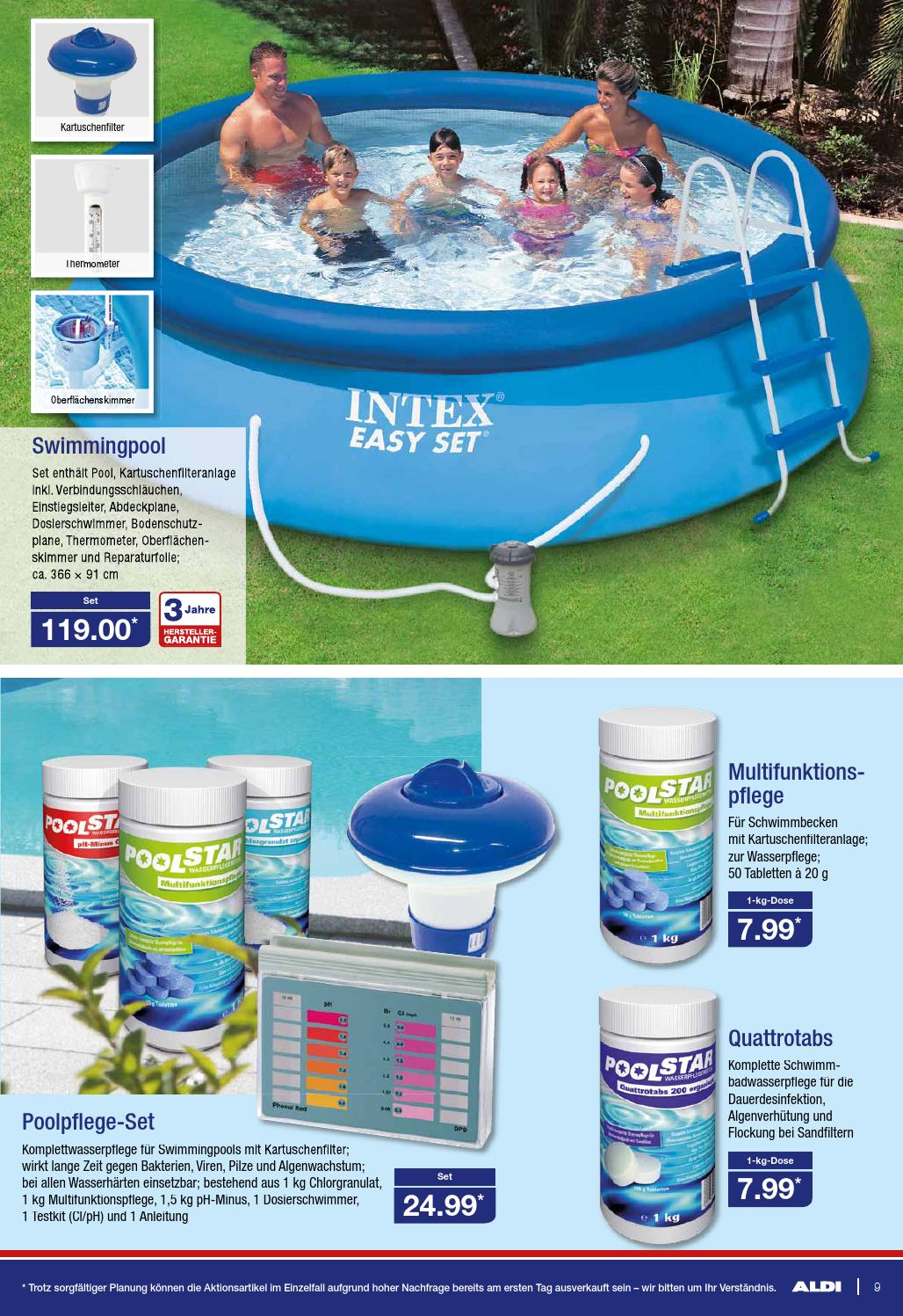 Aldi Intex Pool Intex Pool Garantie