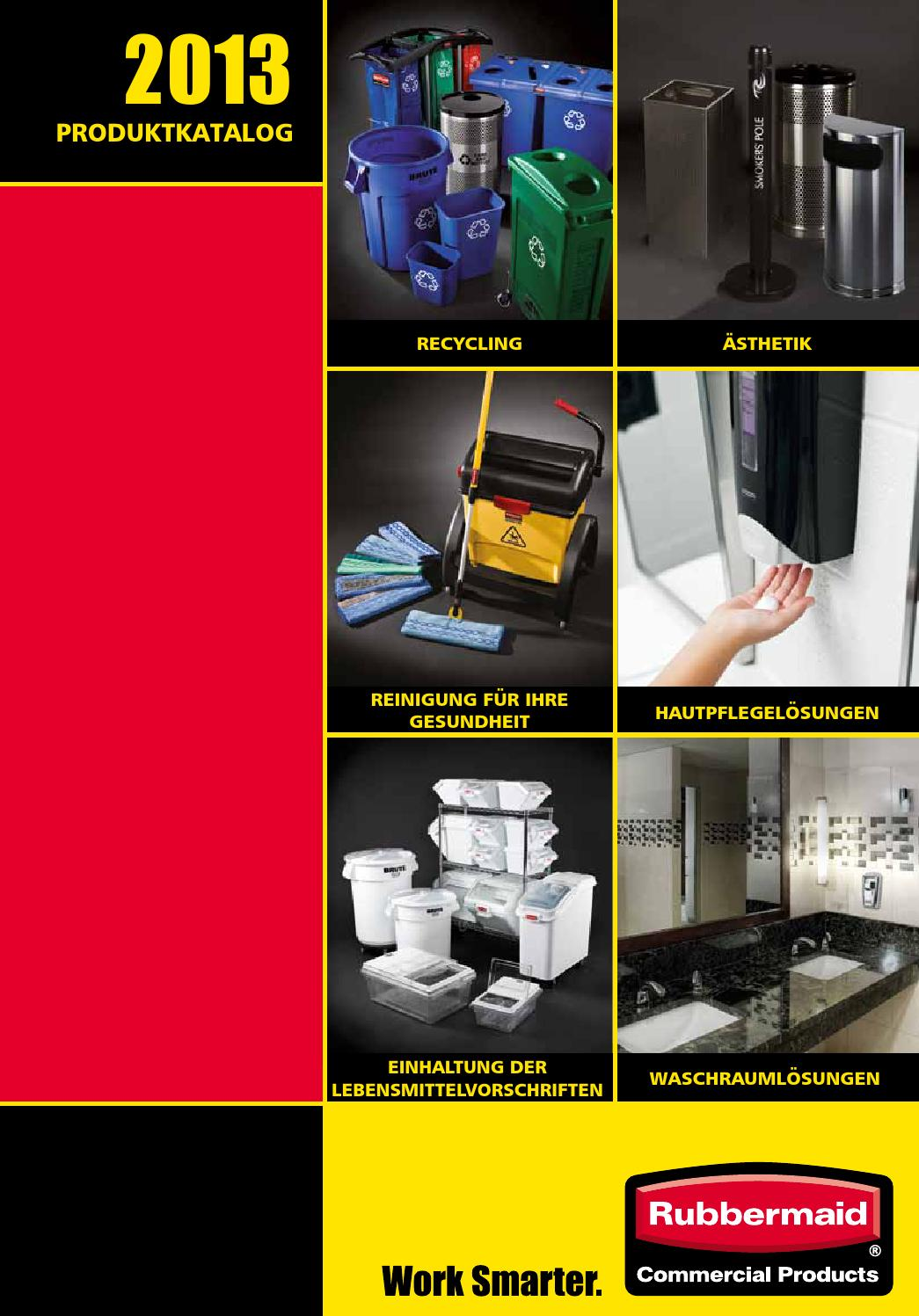 Rubbermaid Comemrcial Prodcuts 2013 Catalogue German Deutsch By Rubbermaid Issuu
