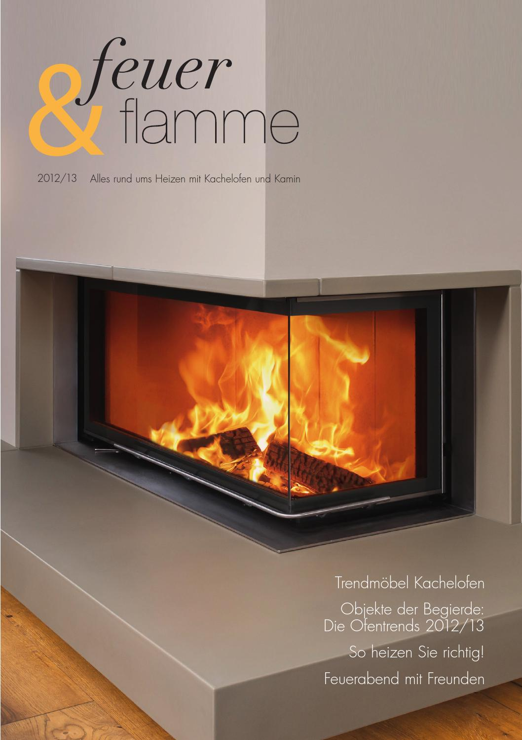 2 öfen An Einem Kamin Feuer And Flamme By Tom Seen Issuu