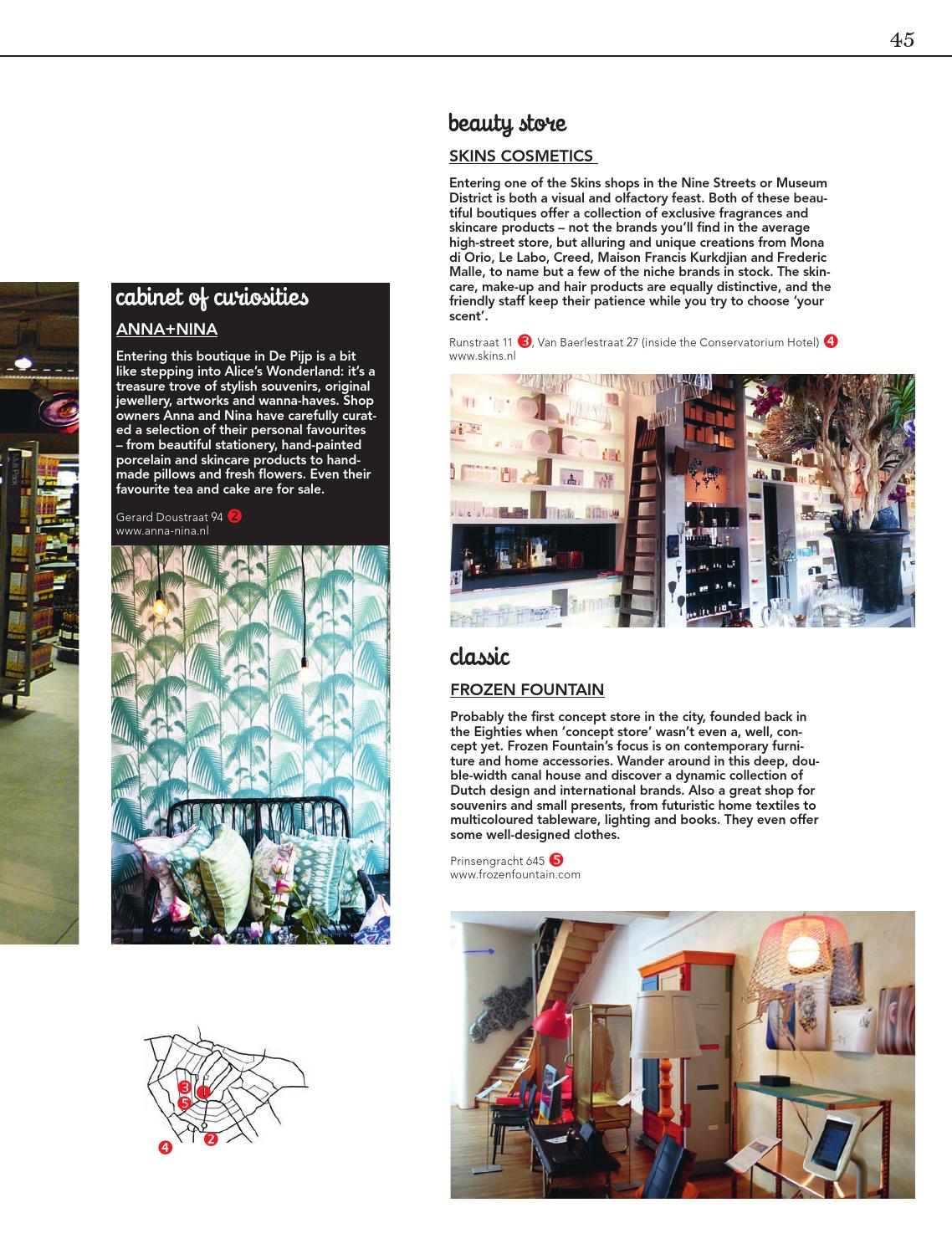Anna Nina De Pijp A Mag Amsterdam Magazine No 4 By Amsterdam Partners Issuu