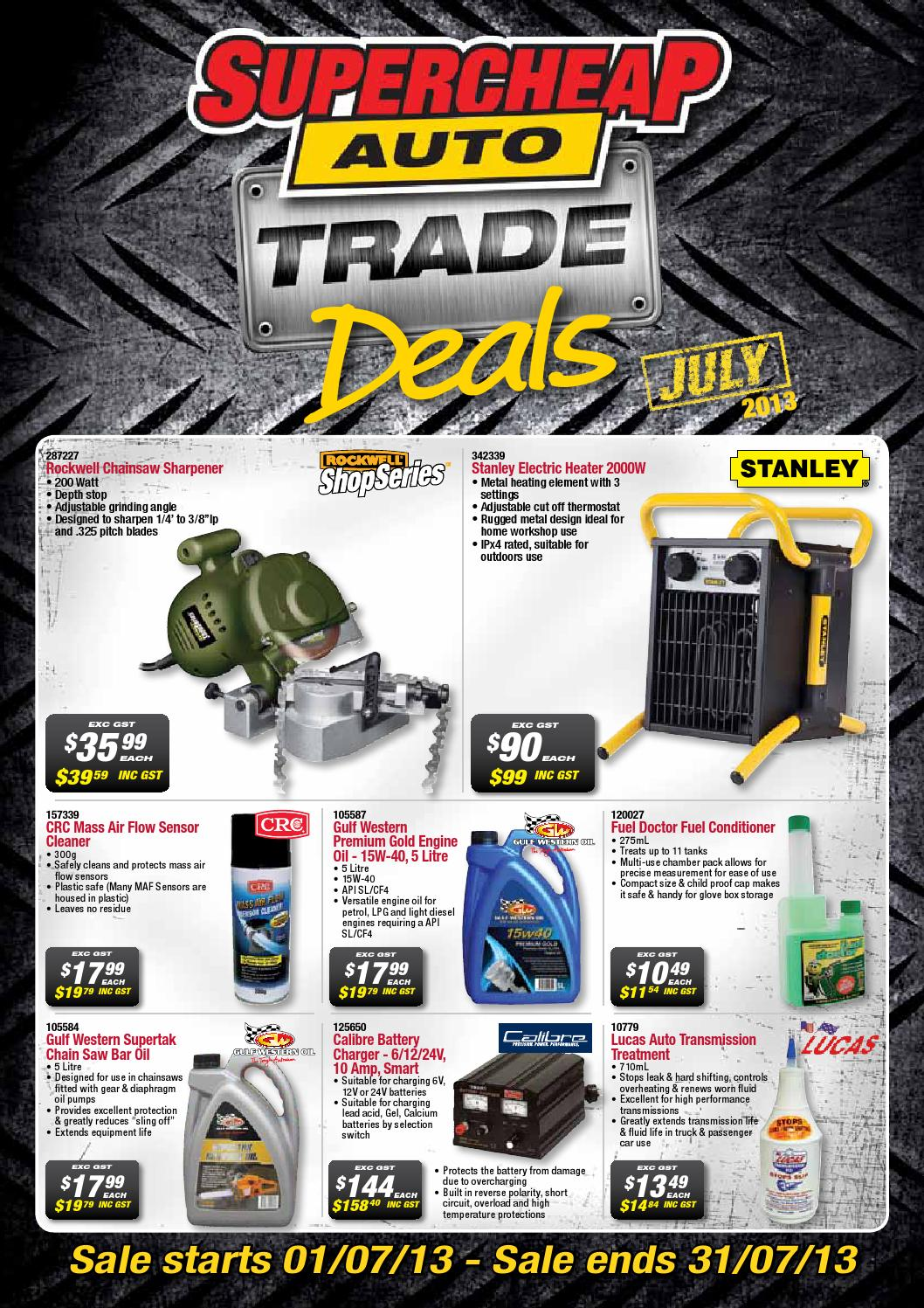 Australian Online Catalogues Supercheap Auto Trade Catalogue Australia By Super Retail