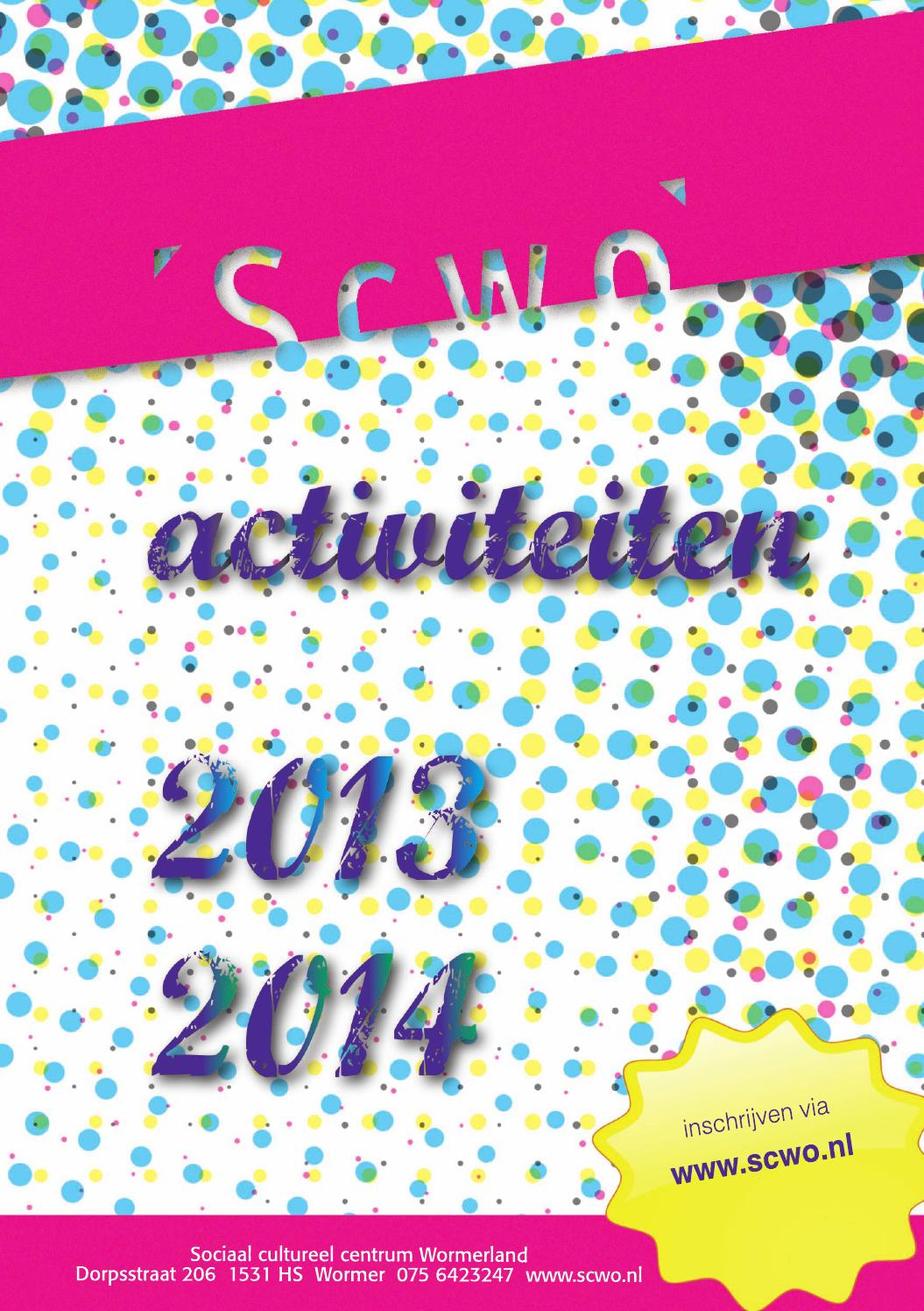 Zwembad T Zwet Wormer Scwo 2013 2014 By Maypress Online Library Hosted By Your
