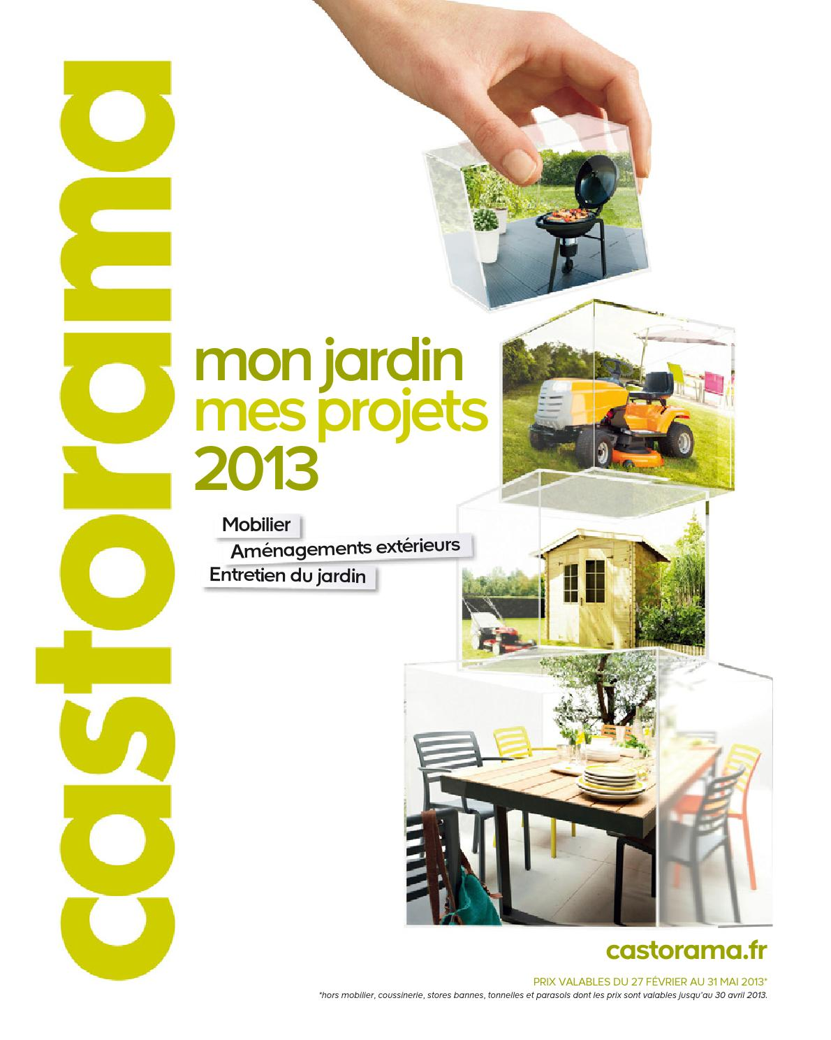 Pose D'un Store Banne Castorama Catalogue Castorama Jardin Projets By Margot Ziegler Issuu