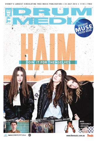 Drum Media Sydney Issue 1170 by TheMusicau - issuu