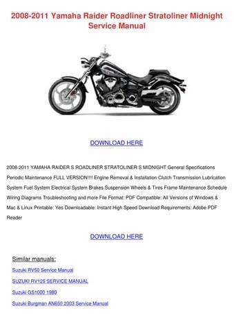 2008 Yamaha Yz250f Service Manual Pdf