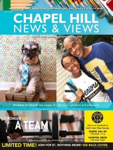 Chapel Hill News  Views - August 2013 by Lindsey Robbins - issuu