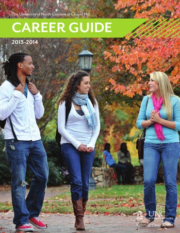 2013-2014 Career Guide by UNC Chapel Hill University Career Services