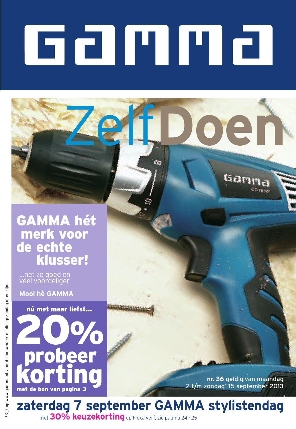 Buiten Vloerkleed Gamma Gamma Folder Tot 08 09 By Broshuri Issuu
