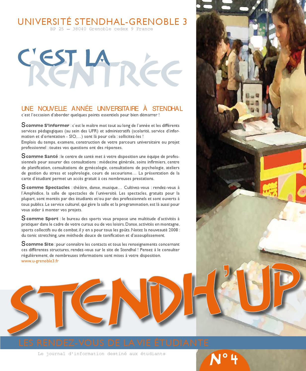 Centre De Planification Grenoble Stendh 39up N 4 By Webmaster Université Stendhal Issuu