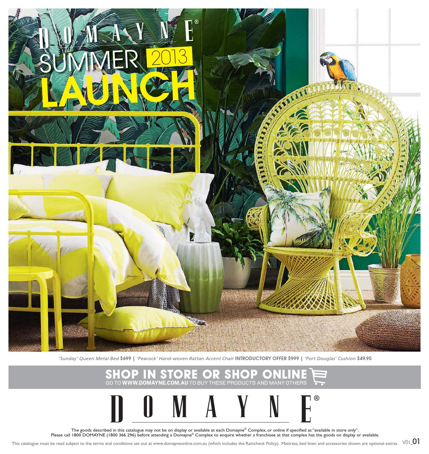 Domayne Beds Catalogue Summer 2013 Launch By Domayne Issuu