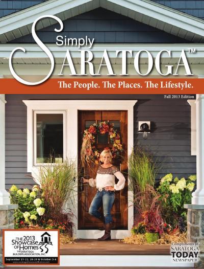 Simply Saratoga fall 2013 by Saratoga TODAY - Issuu