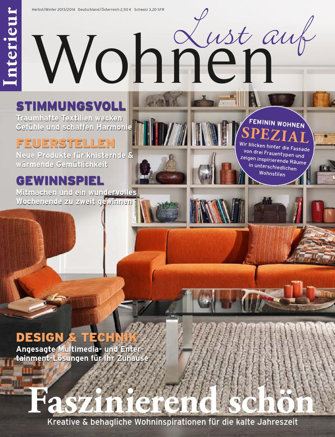 Interieur Lust Auf Wohnen By New Media Works Issuu