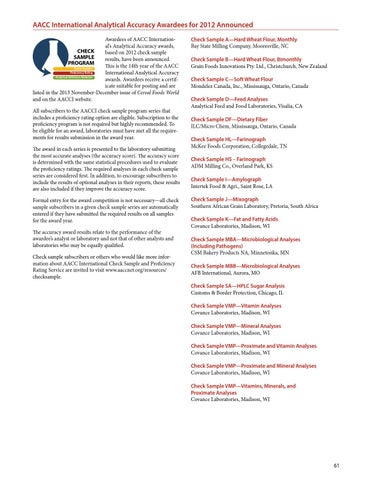 2013 AACCI Annual Meeting Program Book by Scientific Societies - issuu