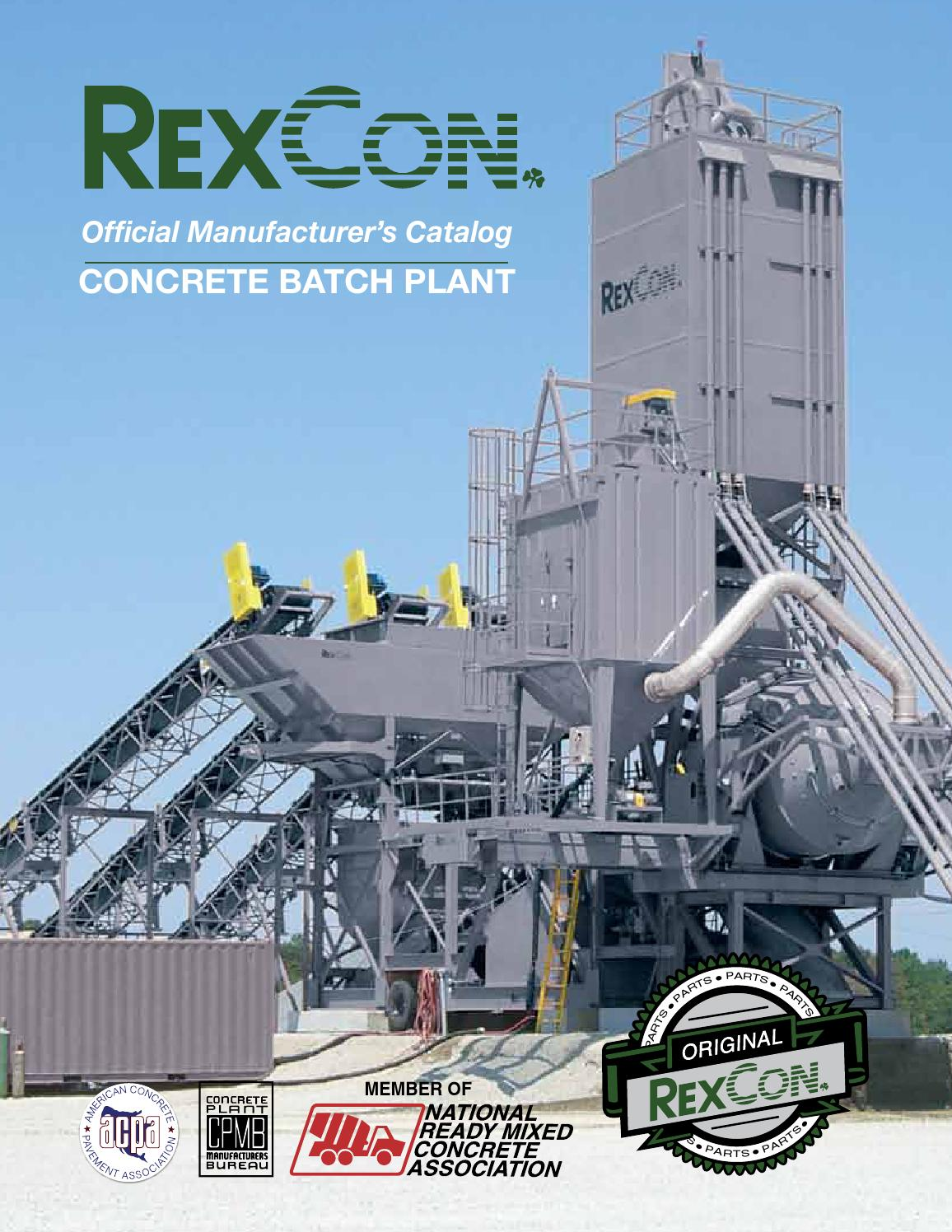Factory Manufacturer Parts Rexcon Official Manufacturer S Parts Book By The Scan Group