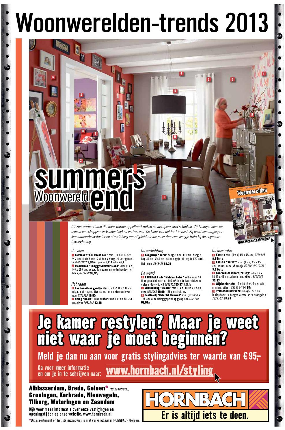 Hornbach Breda Openingstijden Wonen September2013 By Smart Media Issuu