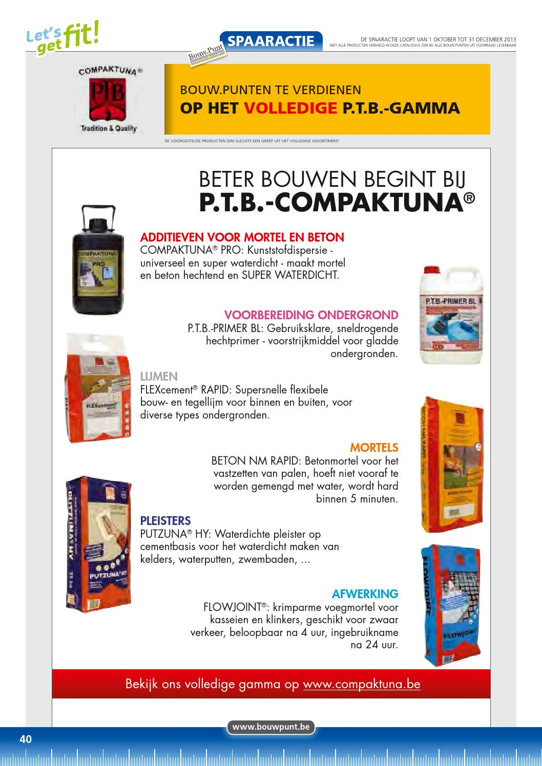 Gietmortel Gamma Let S Get Fit By Bouwpunt Ottevaere Issuu
