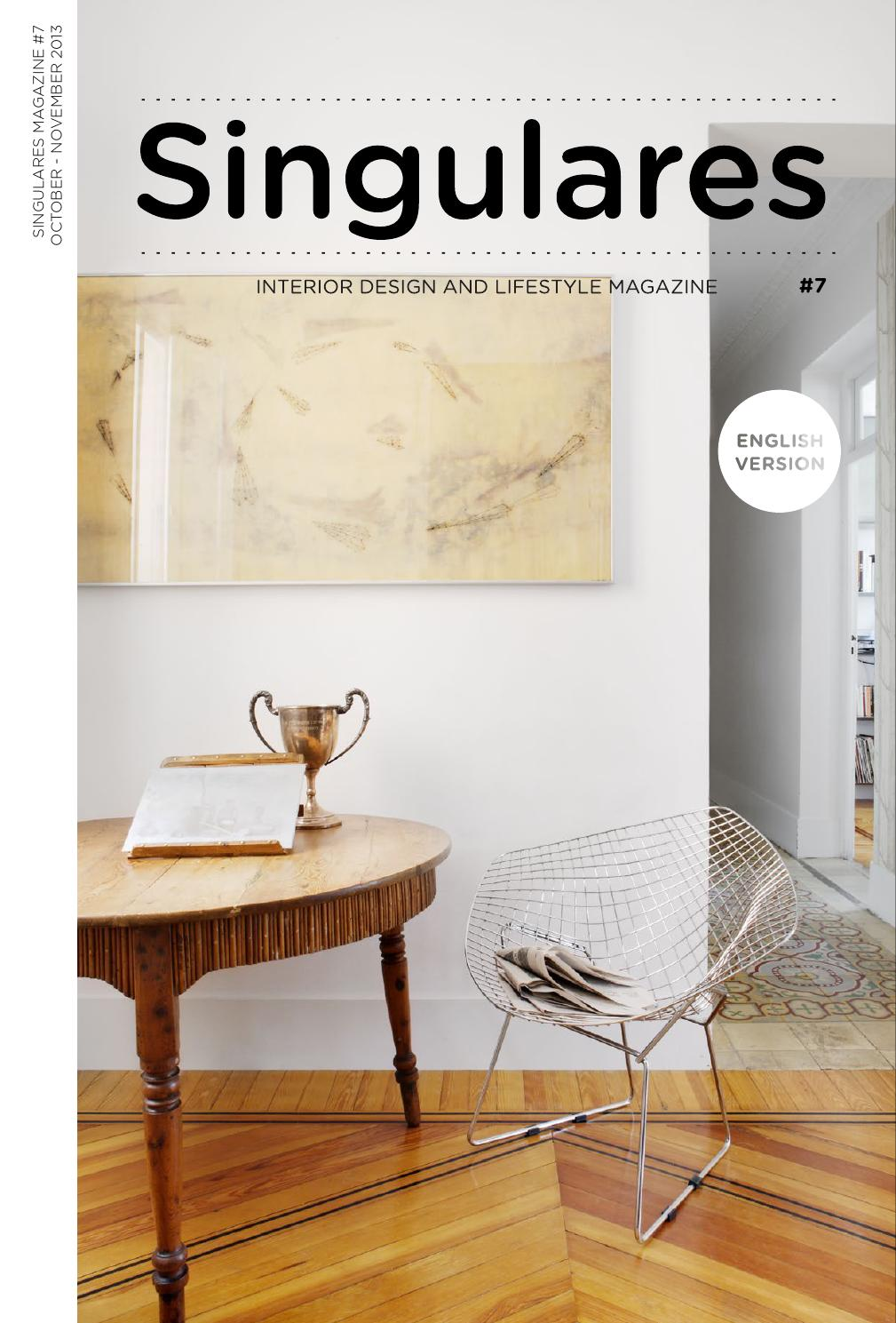 Maison Decor Valladolid Singulares Magazine 7 English Version By Singulares Magazine Issuu