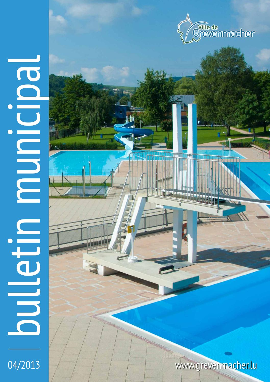 Bulletin Municipal 04 2013 By Ville De Grevenmacher Issuu